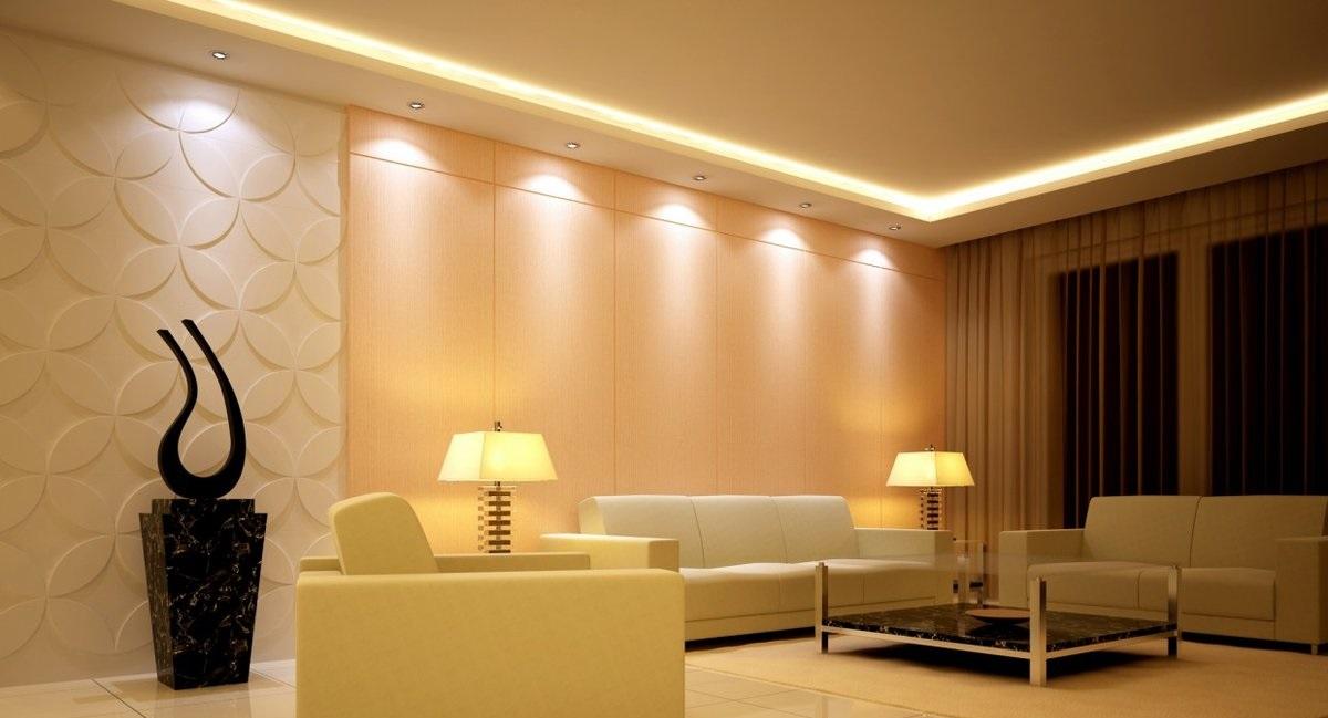 Точечные светильники - использование в интерьере