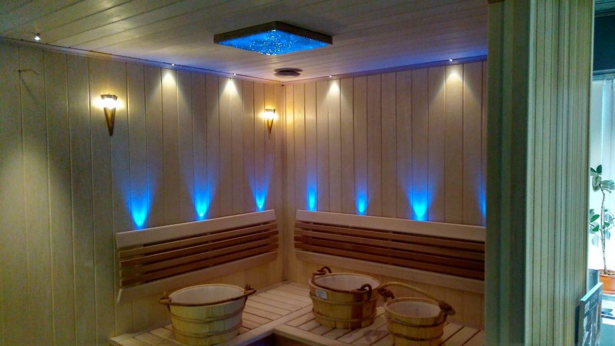 Светильники для бани - светодиодные