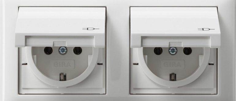 Розетки для ванной комнаты
